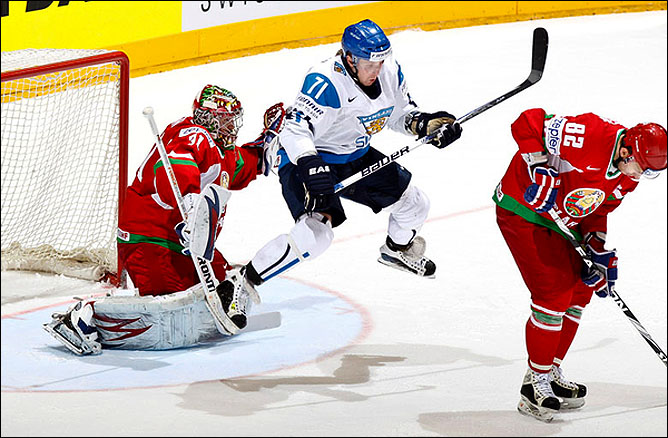 14.05.2010. ЧМ-2010. Финляндия - Белоруссия - 2:0. Фото 01.
