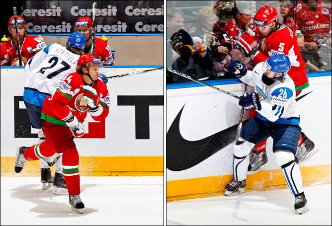 14.05.2010. ЧМ-2010. Финляндия - Белоруссия - 2:0. Фото 02.