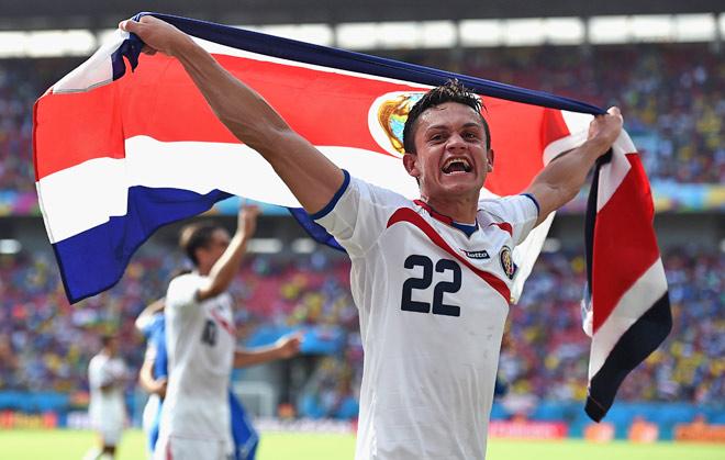 Сборная Коста-Рики вслед за Уругваем обыграла Италию и гарантировала себе место в плей-офф