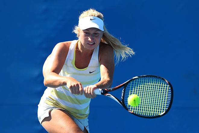 Гаврилова выступала на US Open как австралийка