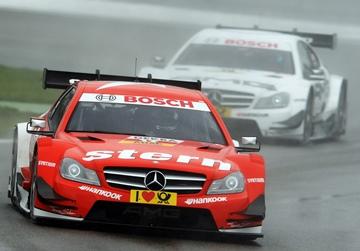 Даниэль Хунканделья в сезоне-2013 DTM