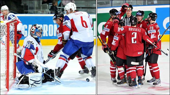 14.05.2010. ЧМ-2010. Канада - Норвегия - 12:1. Фото 02.