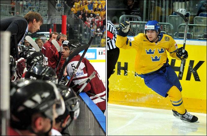 14.05.2010. ЧМ-2010. Швеция - Латвия - 4:2. Фото 01.