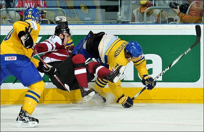 14.05.2010. ЧМ-2010. Швеция - Латвия - 4:2. Фото 02.