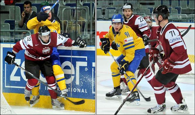 14.05.2010. ЧМ-2010. Швеция - Латвия - 4:2. Фото 03.