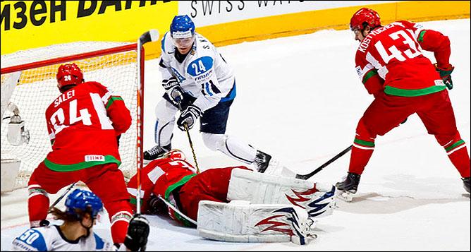 14.05.2010. ЧМ-2010. Финляндия - Белоруссия - 2:0. Фото 06.