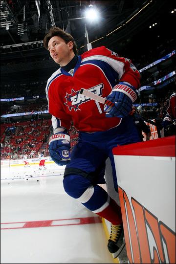 Илья Ковальчук, завсегдатай Матчей Всех Звезд НХЛ