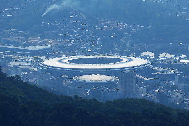 Вид на стадион имени Марио Филью («Маракану»)