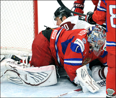 5 мая 2012 года. Стокгольм. Чемпионат мира. Групповой турнир. Латвия — Россия — 2:5