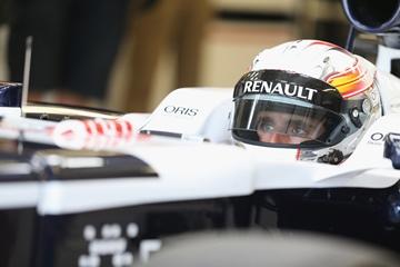 Даниэль Хунканделья на молодёжных тестах Формулы-1