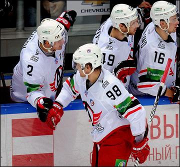Фёдор Малыхин и его очередной гол в КХЛ