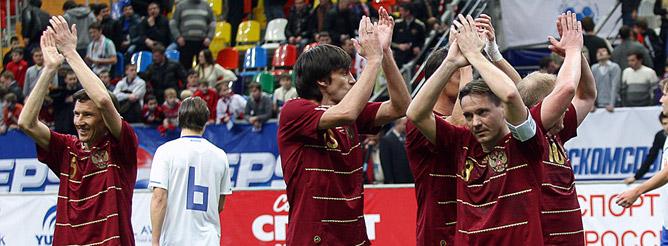Дмитрий Аленичев привёл сборную к победе!