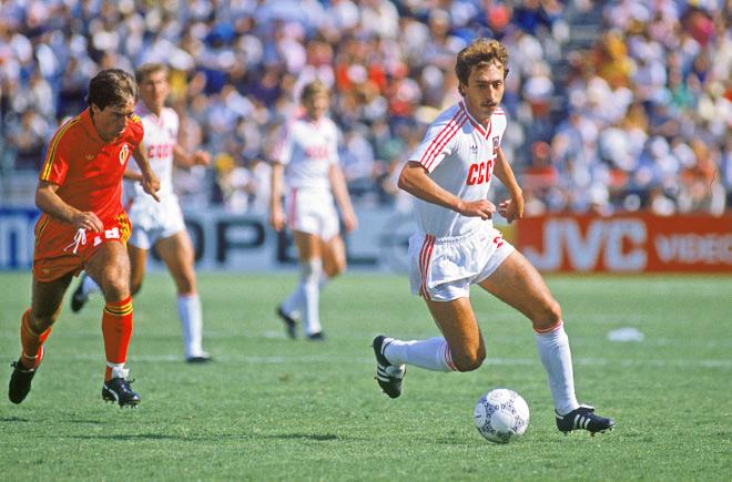 Бельгия – СССР – 4:3. Чемпионат мира. 1/8 финала. 1986 год
