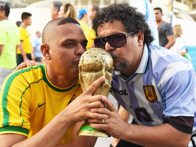 Болельщики в Бразилии