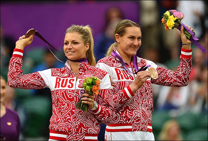 Мария Кириленко и Надежда Петрова завоевали бронзовую медаль в парном разряде
