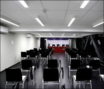 Место, где проходят послематчевые пресс-конференции