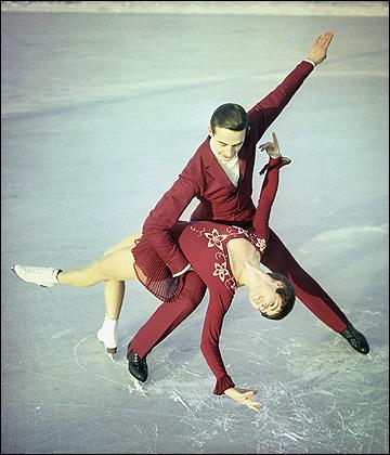 Прорыв в советских танцах на льду совершили Людмила и Александр