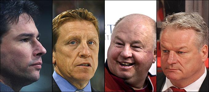 Ни Брюс Кэссиди, ни Глен Хэнлон, ни Брюс Будро, ни Дэйл Хантер не имели абсолютно никакого опыта работы главными тренерами в НХЛ