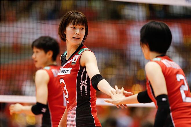 Лидер сборной Японии — Саори Кимура