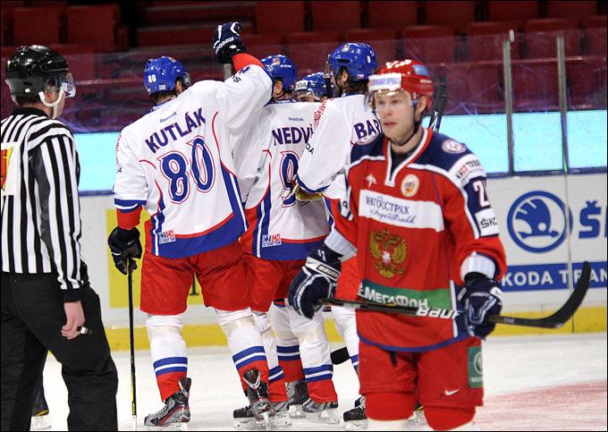 12 февраля 2012 года. Стокгольм. Еврохоккейтур. Шведские игры. Россия — Чехия — 0:4