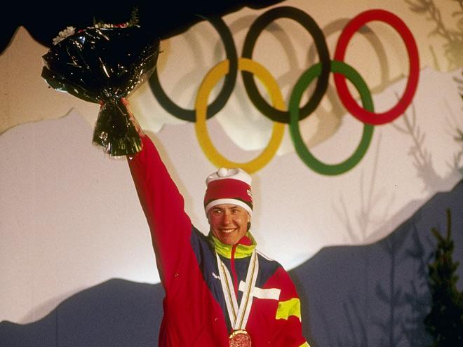 В Альбервилле Егорова окончательно закрепилась в роли лыжной королевы