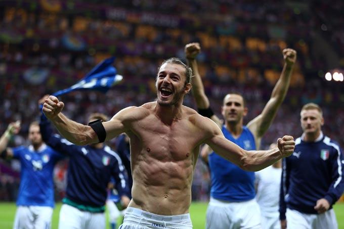 Сборная Италии вышла в финал чемпионата Европы