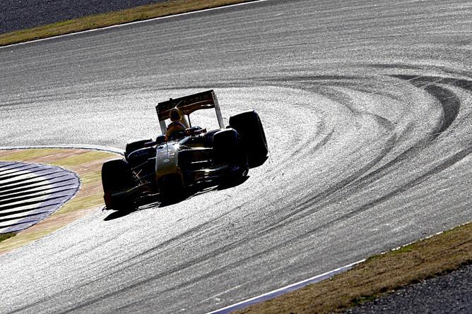 Тесты Формулы-1 в Валенсии