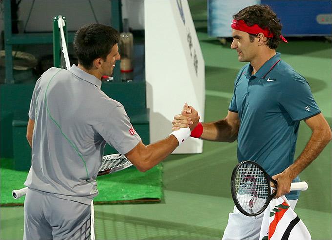 Федерер сломал традицию матчей с Джоковичем