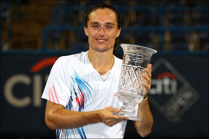 Александр Долгополов завоевал титул в Вашингтоне