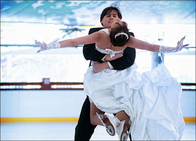 Свадьба на льду.
