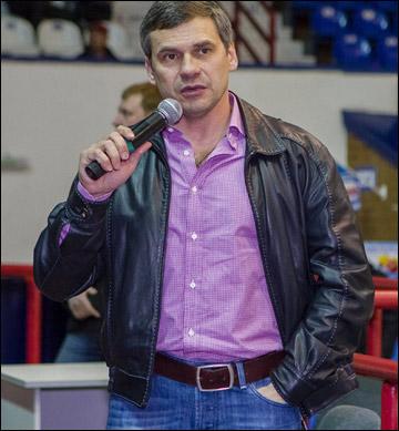 Дмитрий Квартальнов на встрече с болельщиками