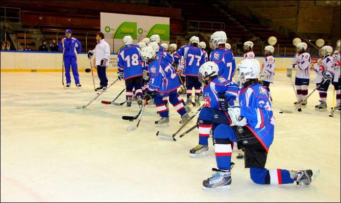 """""""Тренировка со звездой"""" от BP Visco в Нижнем Новгороде."""
