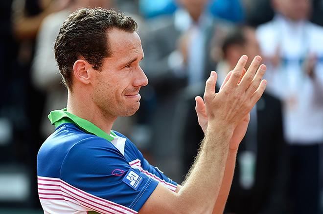 Льодра провёл последний матч в одиночном разряде