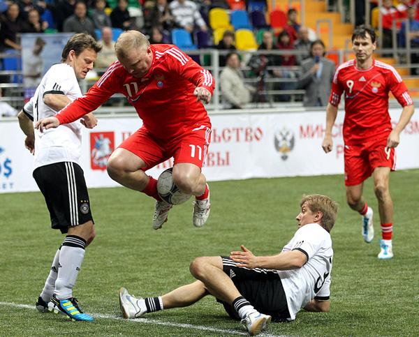 В атаке Сергей Кирьяков