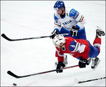 Лука Ансольди против сборной Норвегии
