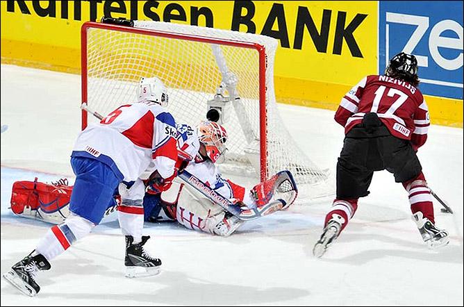 16.05.2010. ЧМ-2010. Латвия - Норвегия - 5:0. Фото 03.