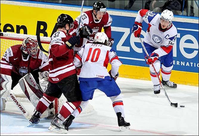 16.05.2010. ЧМ-2010. Латвия - Норвегия - 5:0. Фото 05.