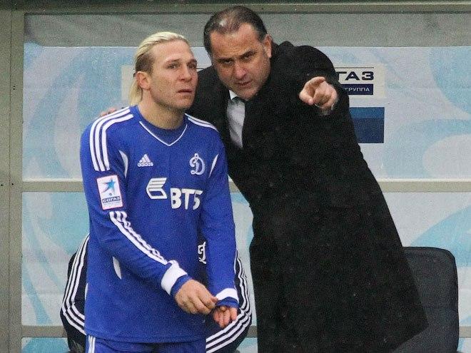 Андрей Воронин и Миодраг Божович