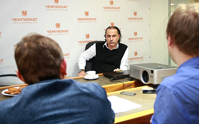 Миодраг Божович в редакции «Чемпионата»