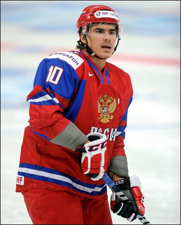 Наиль Якупов на молодежном чемпионате мира в Уфе