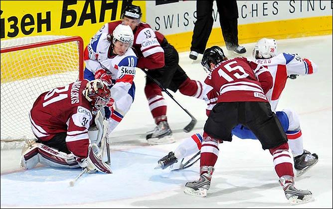 16.05.2010. ЧМ-2010. Латвия - Норвегия - 5:0. Фото 09.