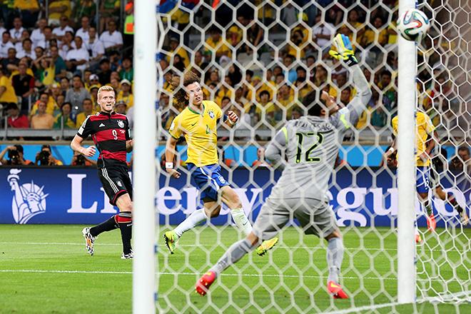 ЧМ-2014. 1/2 финала. Бразилия – Германия – 1:7…