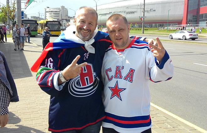 Наши болельщики в Минске