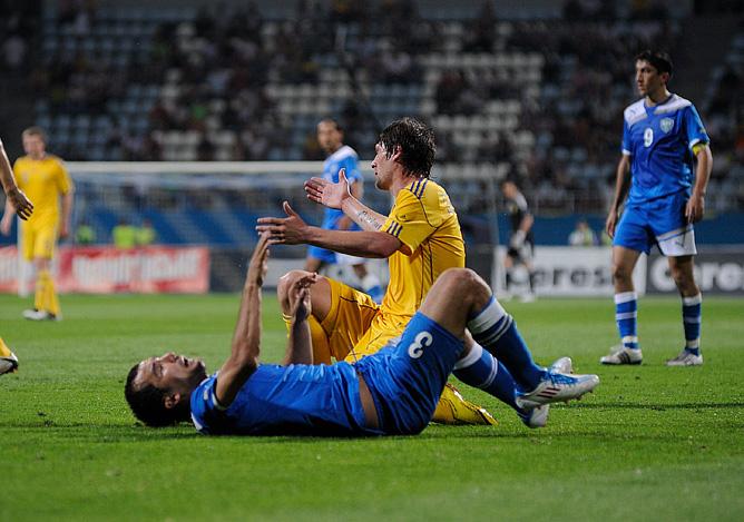 1 июня 2011 года. Киев. Товарищеский матч. Украина – Узбекистан – 2:0