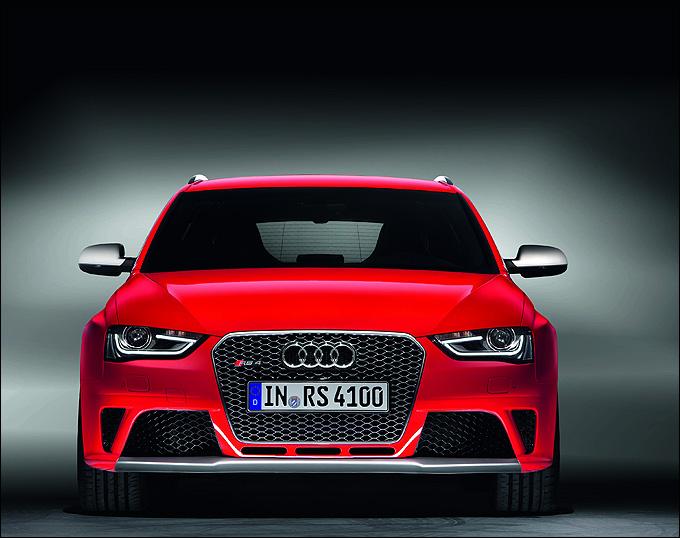 Один из соперников – Audi RS 4