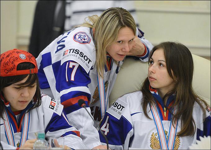 Ольга Сосина, Екатерина Смоленцева и Светлана Ткачева