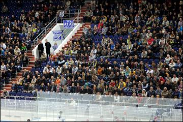 Пензенская арена была заполнена почти полностью