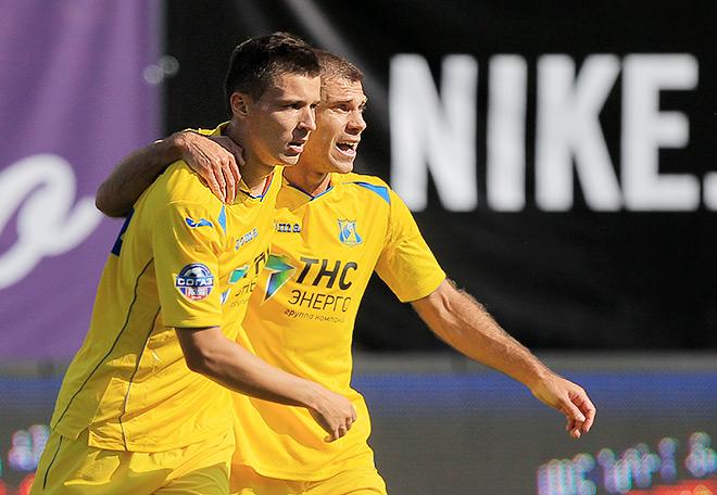 Дмитрий Полоз забил два гола в ворота «Динамо»
