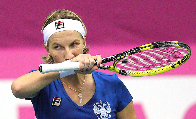 Светлана не обошлась без приключений, но принесла сборной победное очко