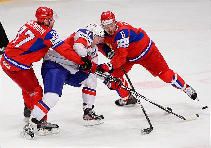 Патрик Торесен против сборной России